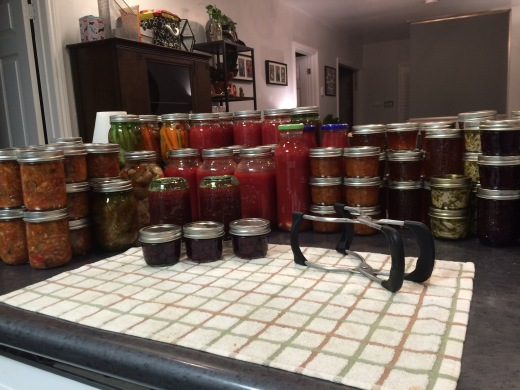 My canning obsession...more on this later