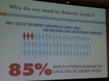 Clinical trials save lives!