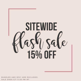 15%Sitewide Sale